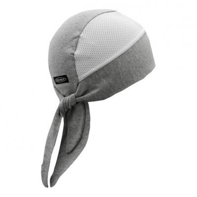 Bonnet de casque Shampa & Dirt Skins Tri-Danna Wide-B Vented gris/blanc
