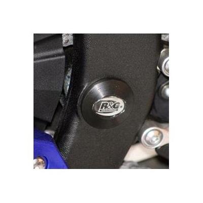 Insert de cadre inférieur gauche R&G Racing noir Yamaha YZF-R6 06-18