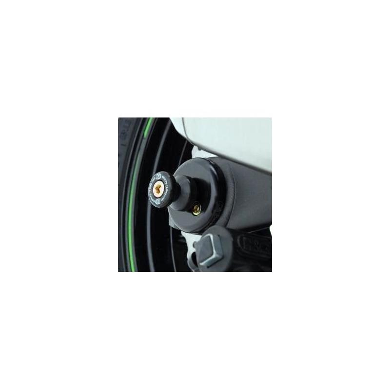 Tampons de bras oscillant diabolos R&G Racing noir Kawasaki Z 1000 10-18