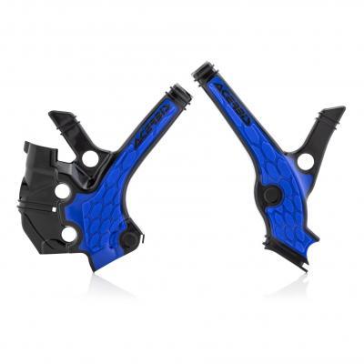 Protection de cadre Acerbis X-Grip Yamaha 65 YZ 19-21 noir/bleu