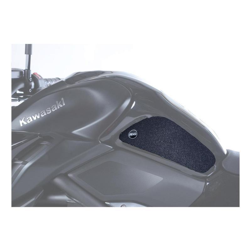 Kit grip de réservoir R&G Racing noir Kawasaki Z 1000 10-13