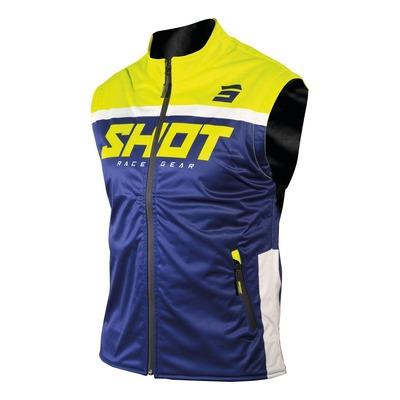 Veste sans manches Shot Bodywarmer Lite 2.0 navy/jaune fluo