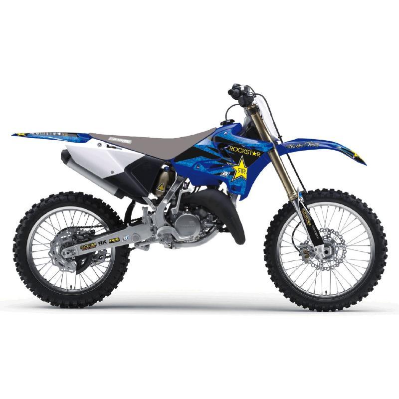 Kit déco Blackbird Racing Rockstar Energy Yamaha 125 YZ 02-14 bleu/noir