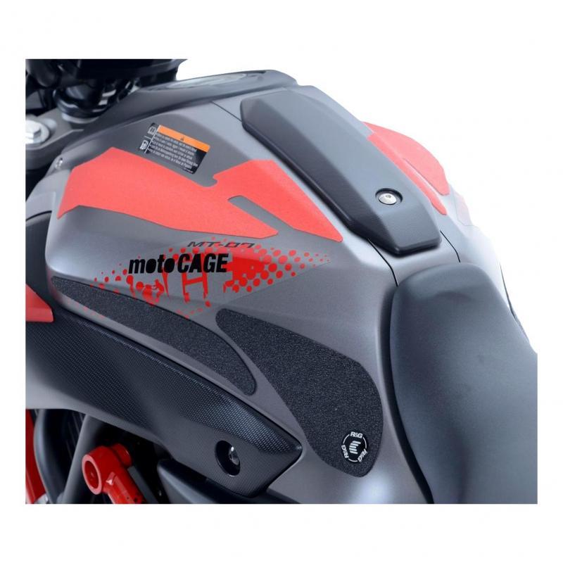Kit grip de réservoir R&G Racing translucide Yamaha MT-07 14-18