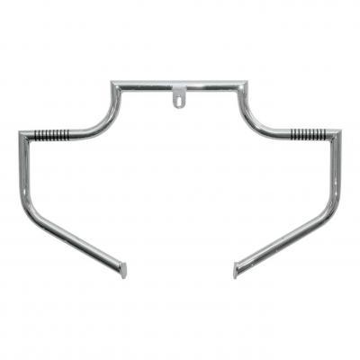 Barre d'autoroute Linbar moustache Lindby Harley Davidson Dyna wide glide 93-17 chrome