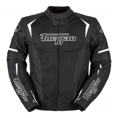 Blouson textile Furygan Ultraspark 3en1 noir/blanc