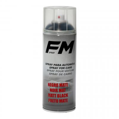 Bombe de peinture acrylique FM Spray noir mat 400ml