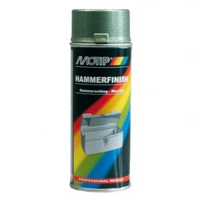 Bombe peinture Effet martelé Vert Motip 400 ml M04012