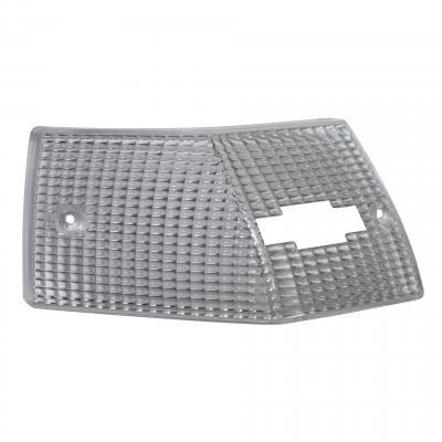 Cabochon de clignotant V Parts transparent arrière gauche Vespa PX 125 2010-