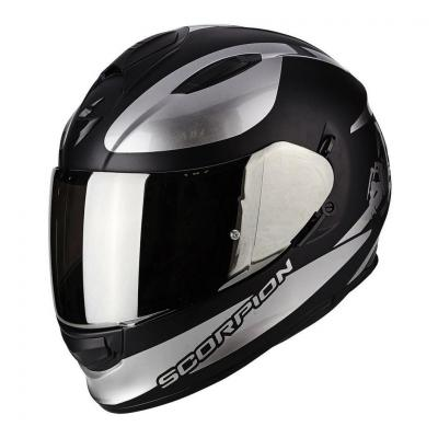 Casque intégral Scorpion EXO-510 AIR SUBLIM noir mat/chrome