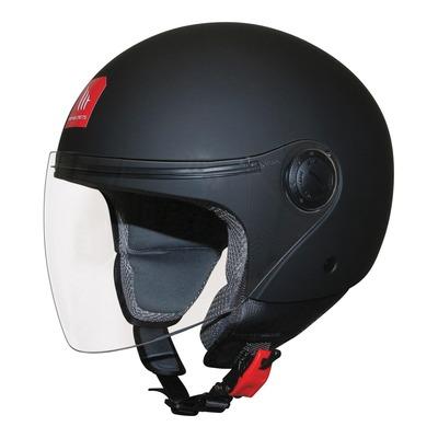 Casque jet MT Helmets Street noir mat