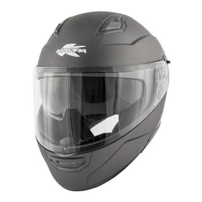 Casque modulable Kappa KV31 Arizona Basic titanium gris mat