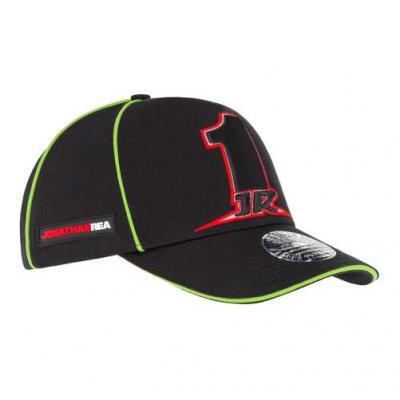 Casquette baseball Jonathan Rea 1JR noir/vert