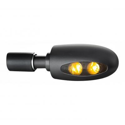 Clignotant embout de guidon Kellermann BL 1000 LED noir verre fumé