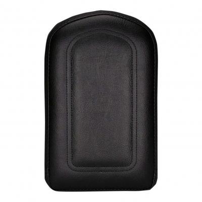 Coussin de sissybar Saddlemen carré noir avec coutures modèle long