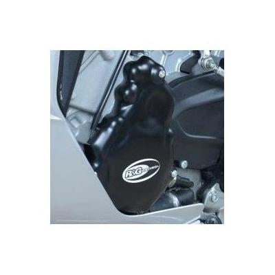 Couvre carter gauche R&G Racing noir MV Agusta F3 675 13-18