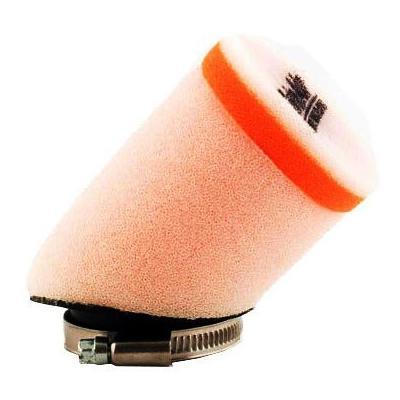 Filtre à air universel cylindrique à 45° Twin Air Ø 65 mm x 80 mm manchon Ø 40 mm