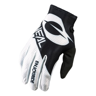 Gants cross O'neal Matrix Stacked noir/blanc