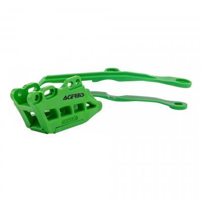 Guide chaîne et patin de chaîne Acerbis Kawasaki 450 KX-F 19-20 vert