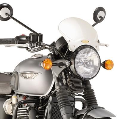 Kit de fixation Givi pour bulle 100AL/100ALB/140A/140S Triumph T120 Bonneville 16-18