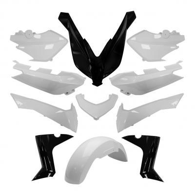 Kit habillage blanc competition Yamaha X-Max 125/250/400 2014-17
