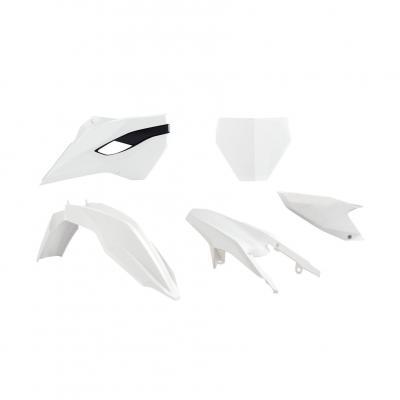Kit plastique RTech couleur d'origine 2014 blanc pour Husqvarna TC 250 14-16