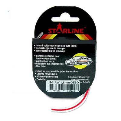 Liseret Tuning Starline 10m x 3mm, lie-de-vin
