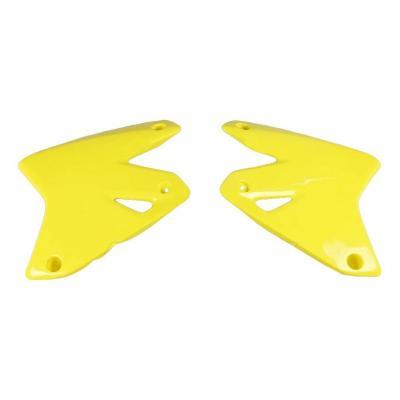 Ouïes de radiateur UFO Suzuki DR-Z 400E 00-05 jaune (jaune RM 01-14)
