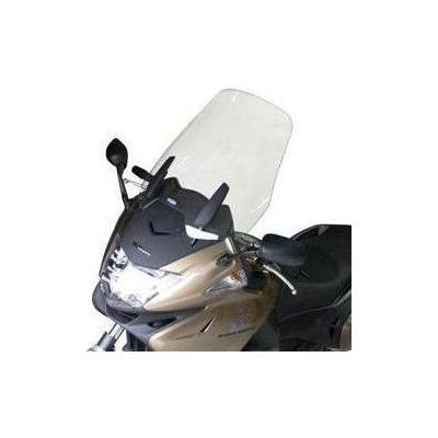 Pare-brise Bullster haute protection 48 cm incolore Honda NTV 700 Deauville 06-14