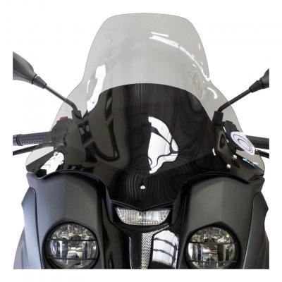 Pare-brise Bullster haute protection 59 cm fumé gris Gilera 500 Fuoco 07-16
