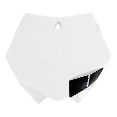 Plaque numéro frontale UFO KTM 250 SX 07-10 blanc