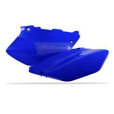 Plaques latérales Polisport Yamaha 250 YZ 02-14 bleu