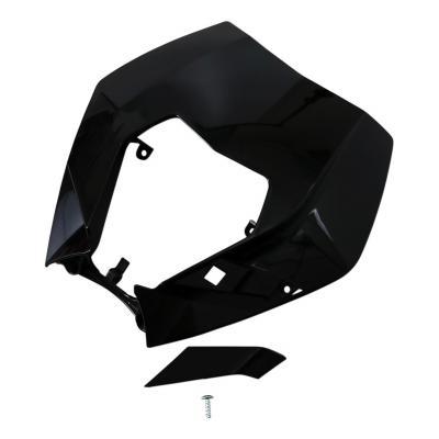 Plastique plaque phare UFO KTM 250 EXC-F 09-13 noir