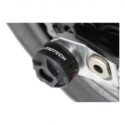 Protection de bras oscillant SW-MOTECH noir BMW / Husqvarna Nuda 900