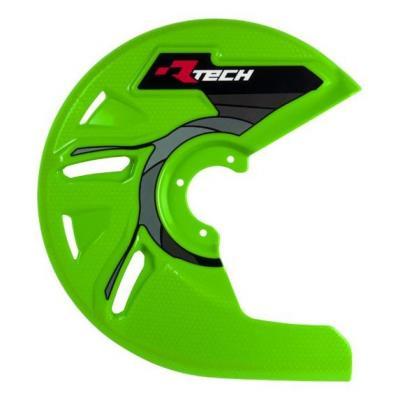 Protection de disque de frein avant RTech vert (vert KX)