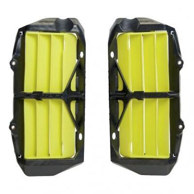 Protection de radiateur RTech Renforcé Husqvarna 250 FC 19-20 jaune (jaune Husqvarna)