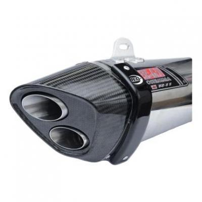 Protection de silencieux R&G Racing noir pour silencieux Yoshimura R11 Honda CBR 1000 RR 08-16