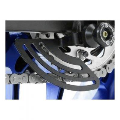 Protège couronne R&G Racing noir Yamaha YZF-R1 15-18