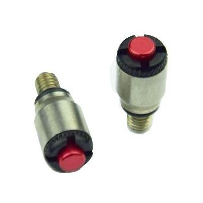 Purgeur de fourche Scar M5x0,8mm fourches KYB/Showa rouge