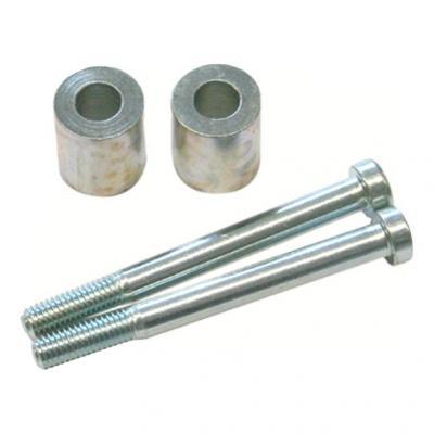 Réhausse de guidon SW-MOTECH guidon Ø28 mm gris