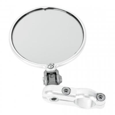 Rétroviseur latéral Droit Hindsight miroir rond Ø76mm rabattable (seul) chrome