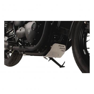 Sabot moteur SW-MOTECH gris Bonneville T120 / Street Twin / Thruxton 1200