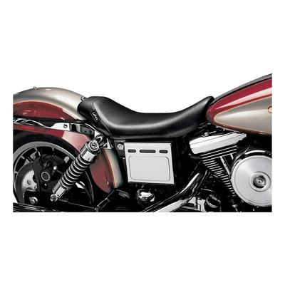 Selle mono Le Pera Bare Bones Harley Davidson Dyna 99-03 noir lisse