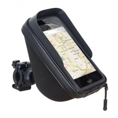 Support de smartphone avec poche Shad 6,6'', 180x90mm (fixation guidon)