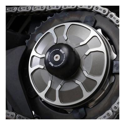 Tampons de bras oscillant R&G Racing noir Kawasaki Ninja H2 SX 18-20