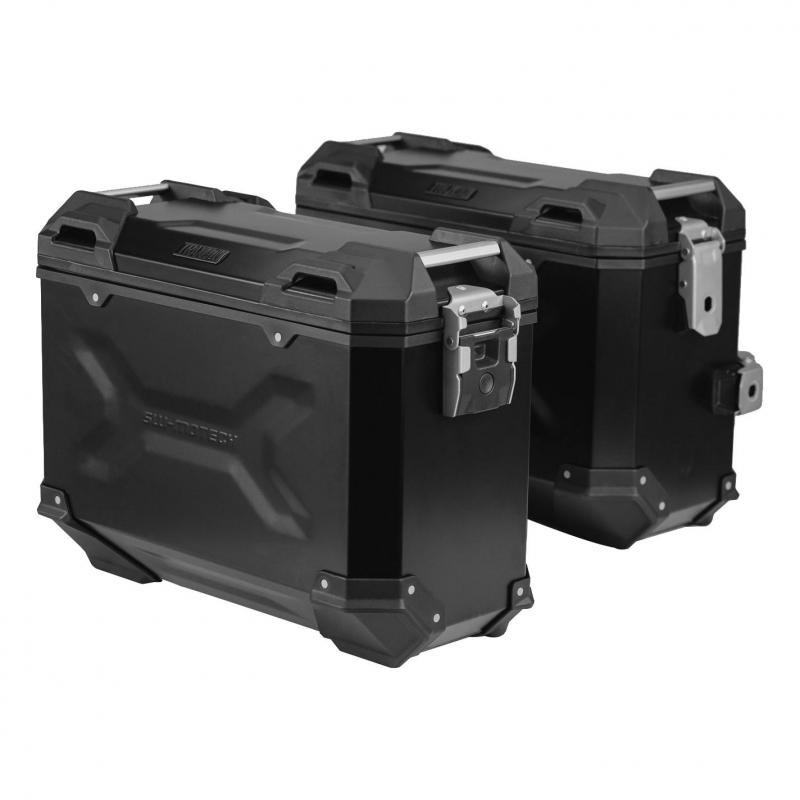 Valises latérales SW-MOTECH TRAX ADV noir 45L Honda XL 700 V Transalp 07-