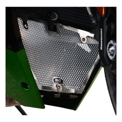 Grille de protection de collecteur R&G Racing noire Kawasaki Ninja H2 SX 19-20