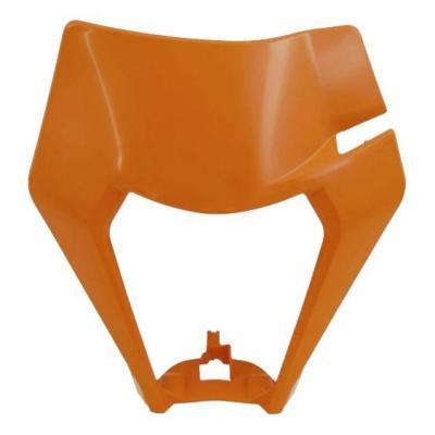 Plastique plaque phare RTech KTM 250 EXC-F 2020 orange (couleur OEM)