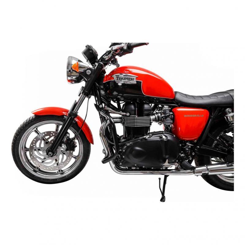 Barres de protection latérale SW-MOTECH noir Triumph Thruxton, Bonneville 04-