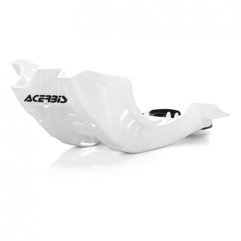 Sabot moteur Acerbis Husqvarna 250 FE 2020 blanc/noir
